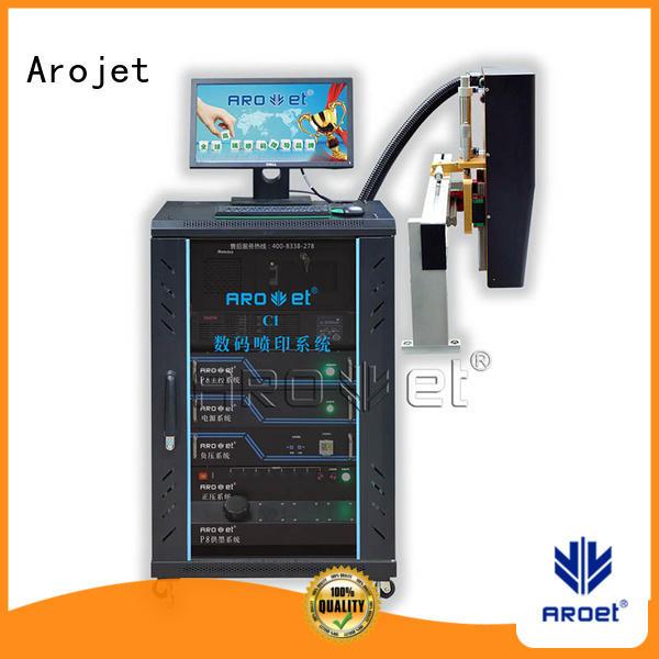 digital inkjet date printer directly sale for label Arojet
