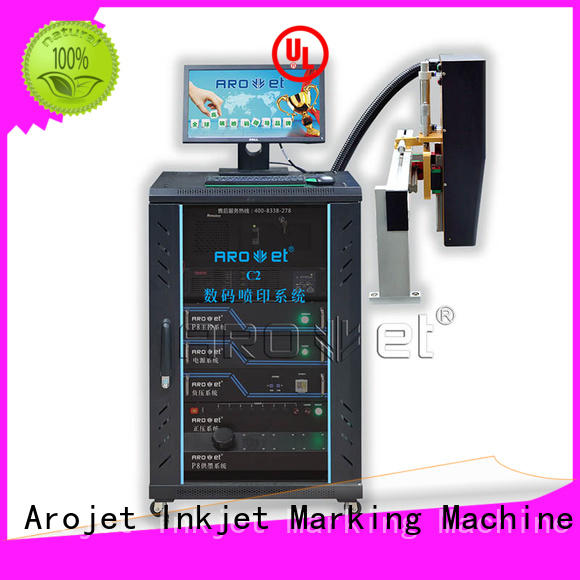 Arojet date coding printer factory direct supply for paper