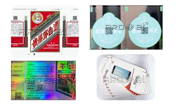 Arojet customized label inkjet printer suppliers for film