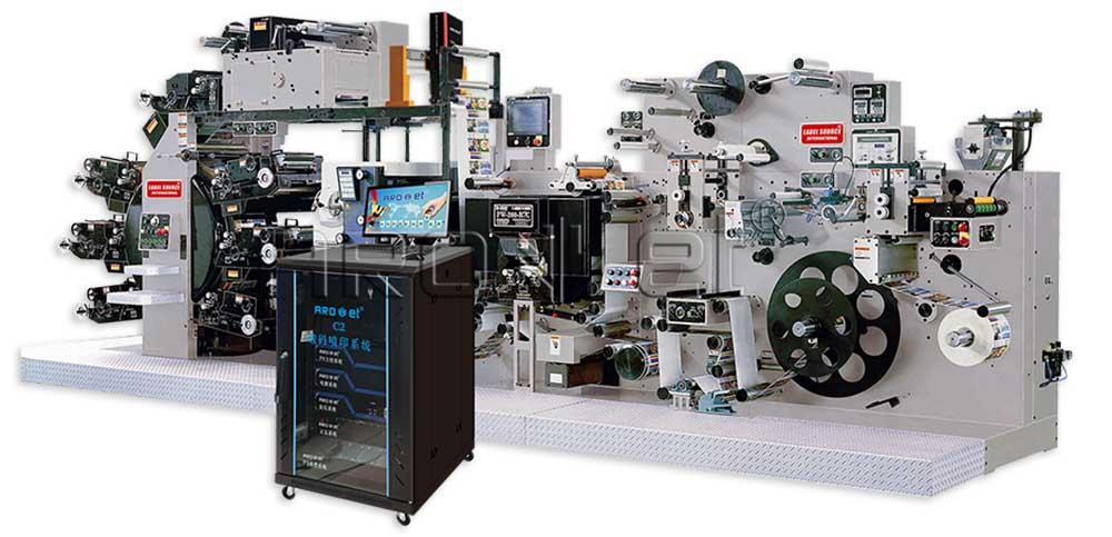 Arojet multicolored inkjet coder manufacturer for packaging
