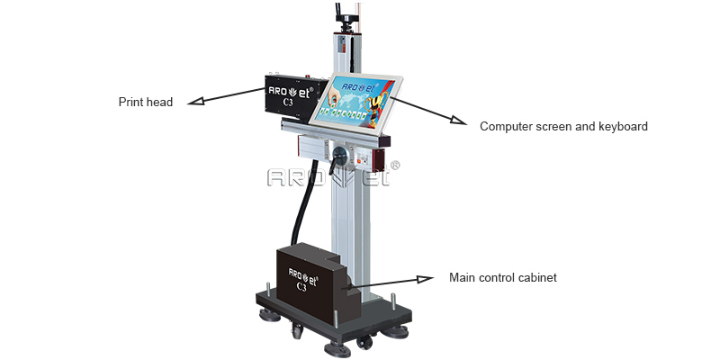 factory price digital inkjet printing em313w directly sale for label-7