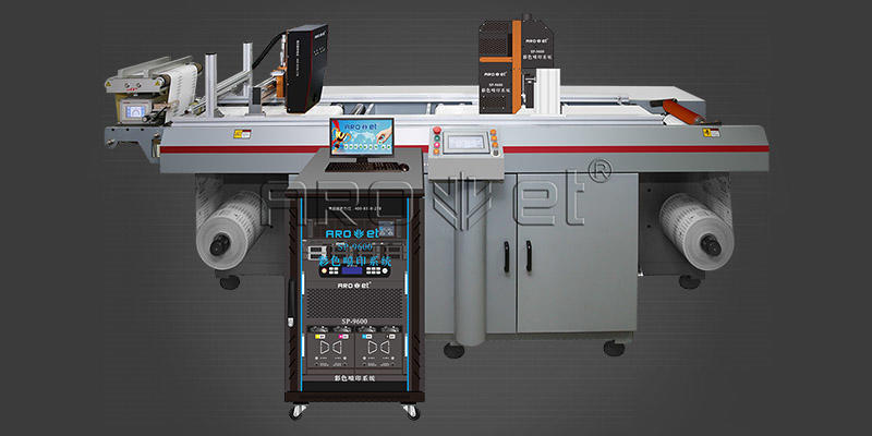 ultrahigh inkjet coding equipment from China for label Arojet