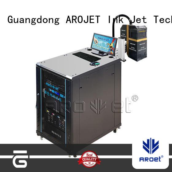 Arojet high speed color inkjet printer manufacturer for packaging