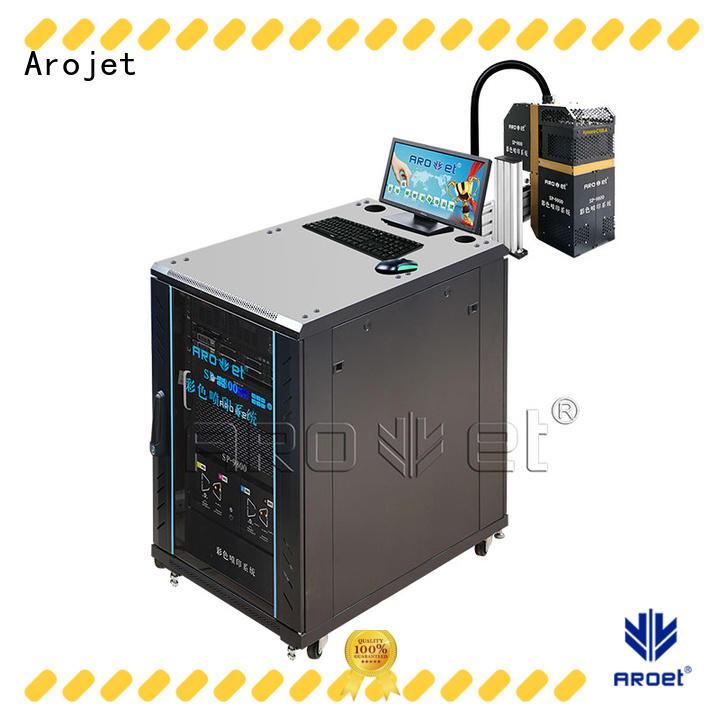Arojet highspeed inkjet marking printer customized for package