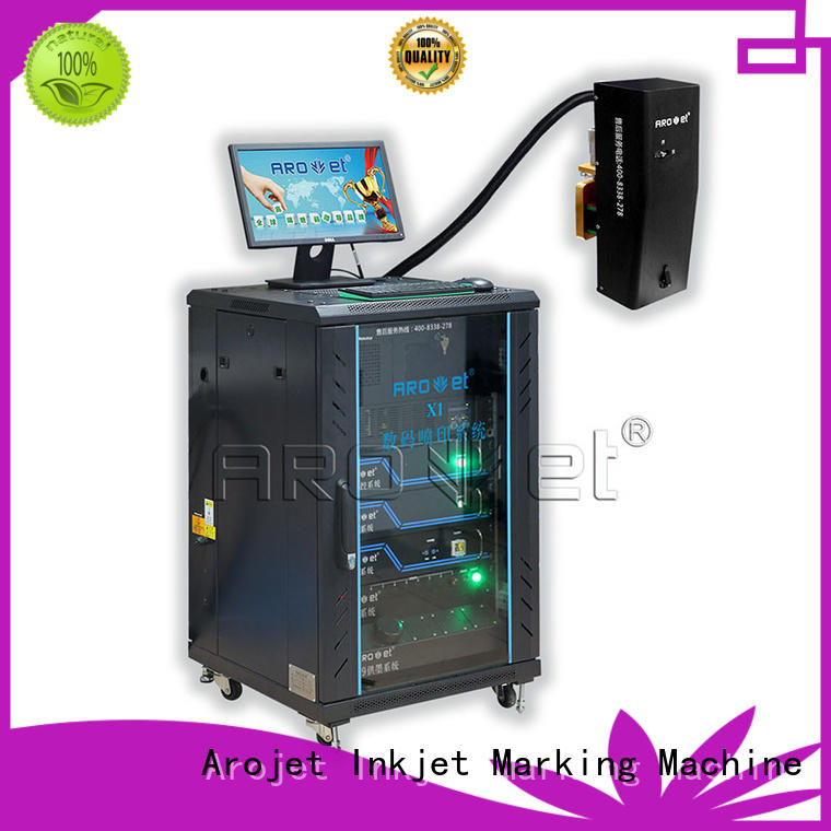 sidejetting inkjet variable data printing machine digital for paper Arojet