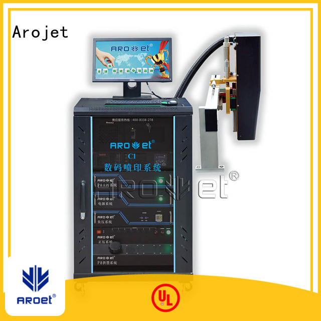 industrial inkjet variable data printing machine series for package Arojet