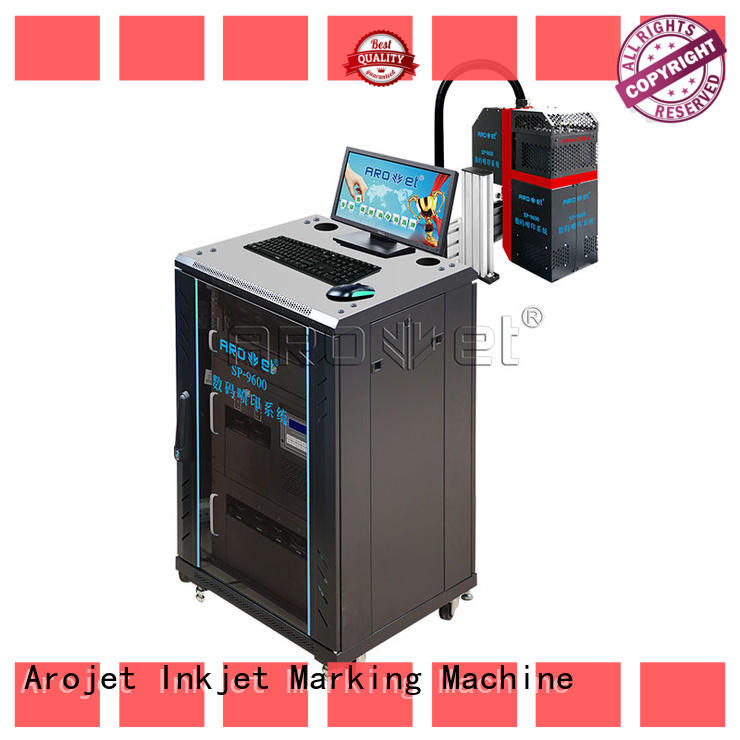 Arojet promotional industrial inkjet series for label