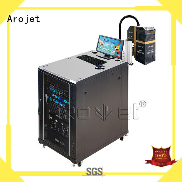 Arojet industrial uv ink jet printer supplier for packaging