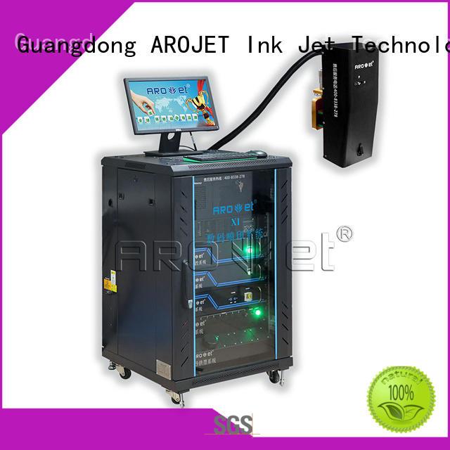 arojet coding printer data for film Arojet