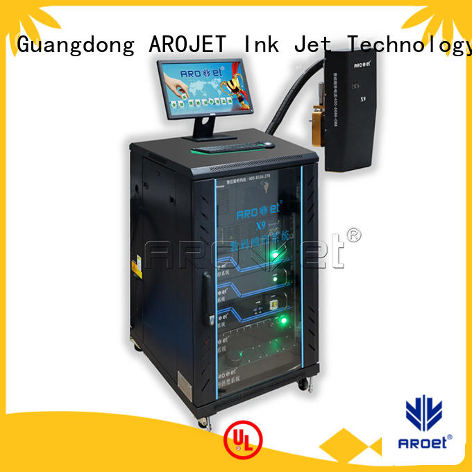 Arojet cost effective color inkjet printer factory direct supply for packaging