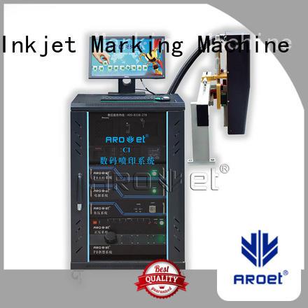 em313w industrial inkjet printing x6 for label Arojet