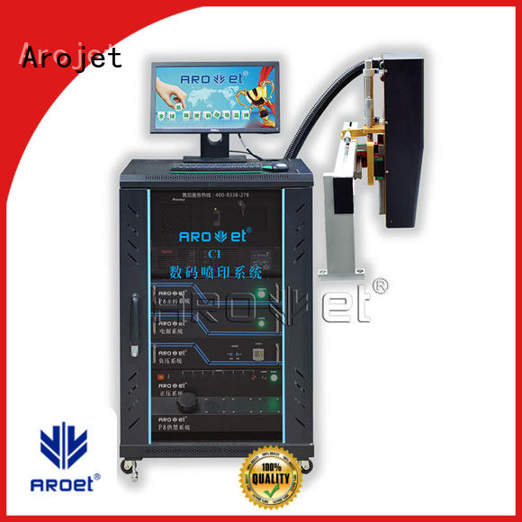 Arojet industrial industrial inkjet printer with good price for label