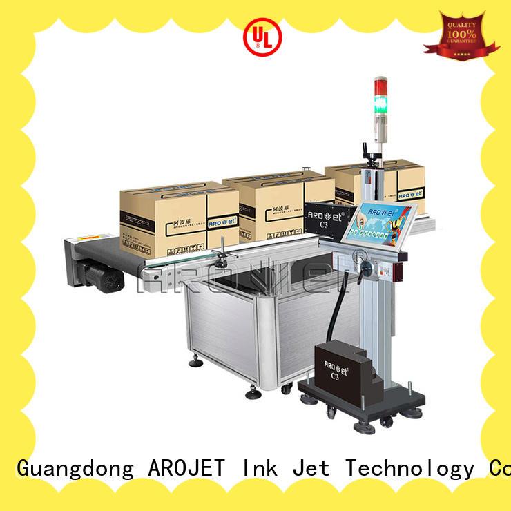 Arojet inkjet industrial inkjet printing machine customized for label