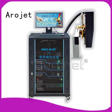 Arojet printer inkjet coding machine suppliers for film
