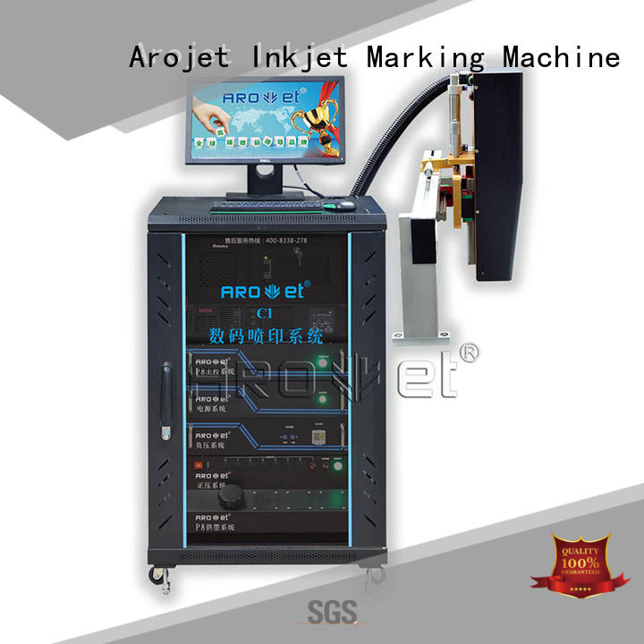 Arojet multicolored inkjet coder from China for label