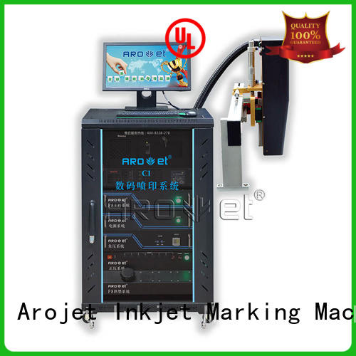 Arojet industrial inkjet coding machine highspeed for paper