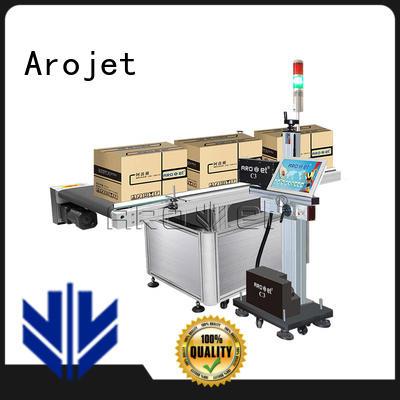 industrial multicolored digital UV inkjet marking machine highspeed Arojet