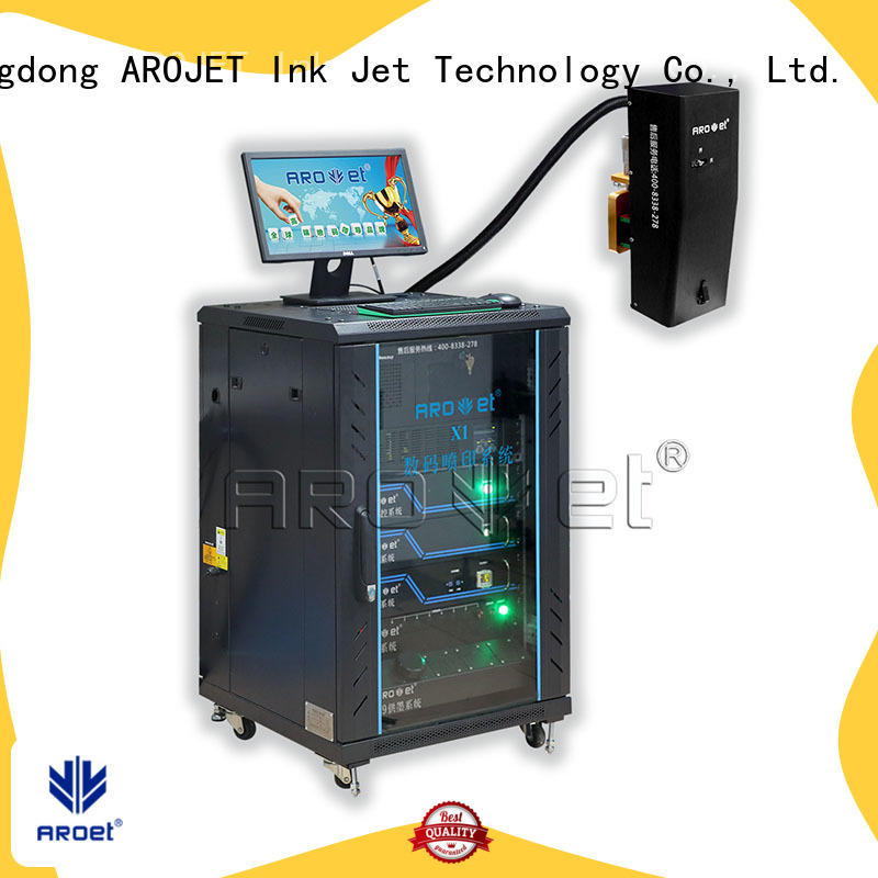 Arojet worldwide label inkjet printer for business for promotion