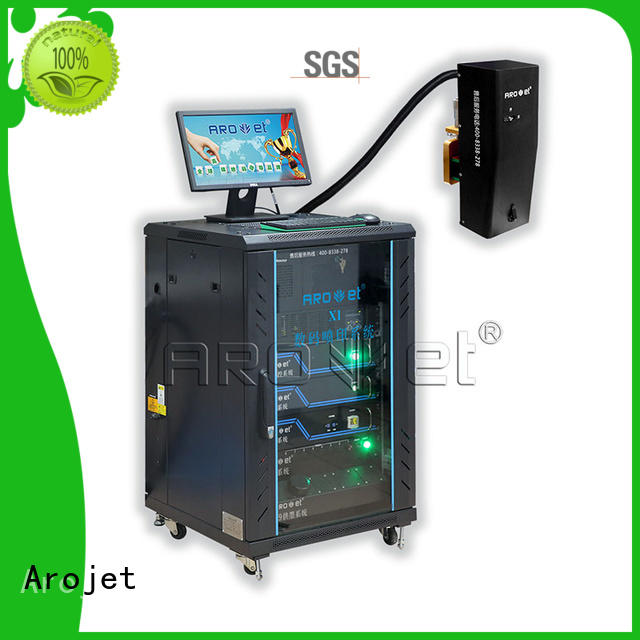 Arojet em313w industrial inkjet factory for packaging
