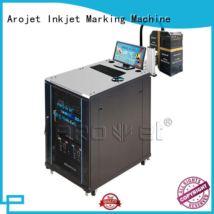 Arojet printer industrial inkjet printing directly sale for label