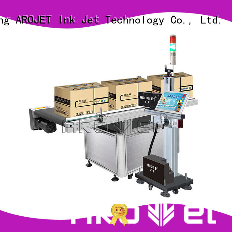 Arojet hot selling industrial inkjet printer factory direct supply for label
