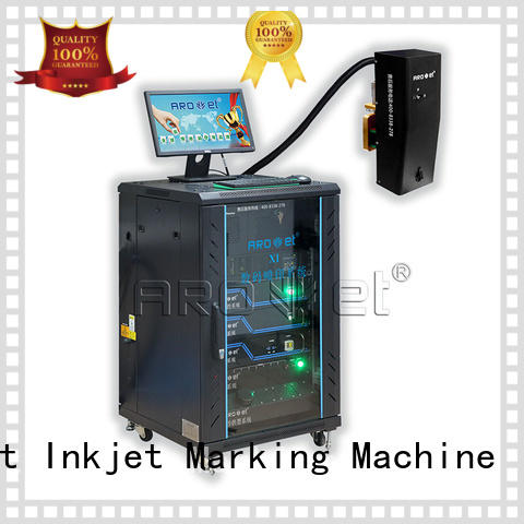 Arojet digital industrial inkjet marking directly sale for label