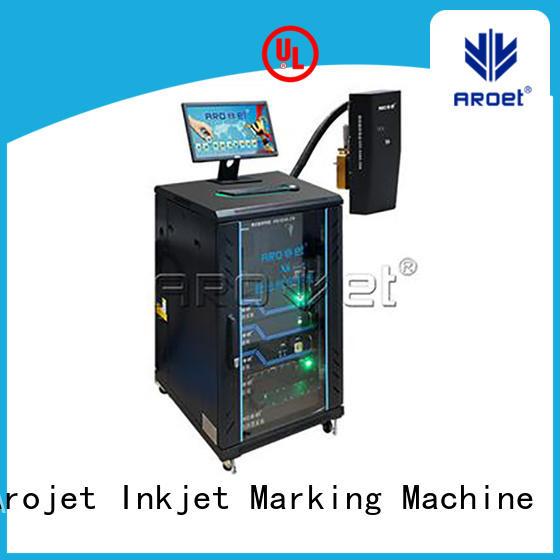 Arojet multi-color digital inkjet printing custom made for packaging