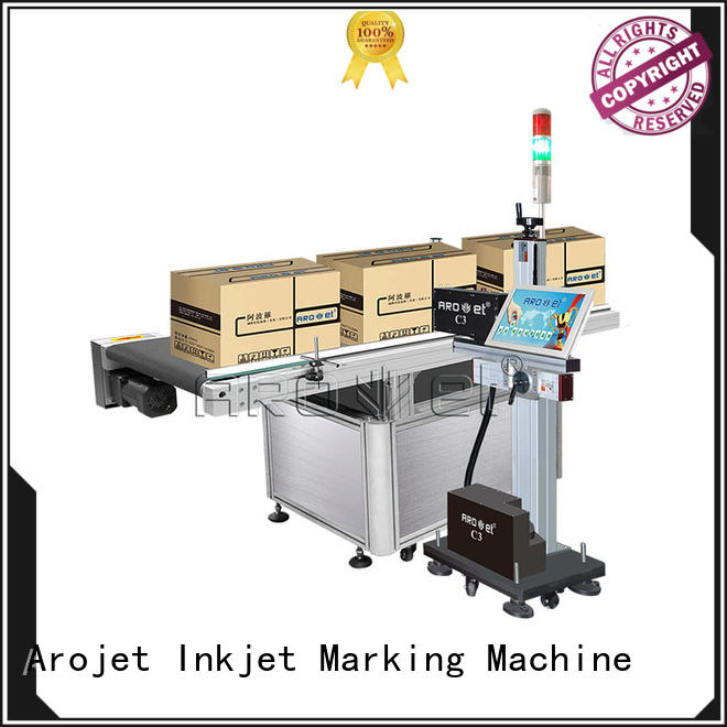 Arojet date coding machine inquire now for carton
