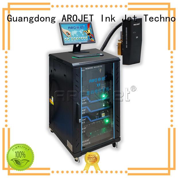 Arojet printer inkjet coding machine manufacturer for film