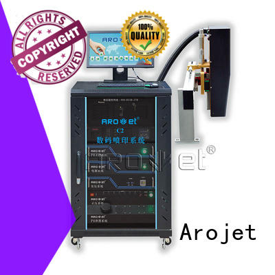 variable industrial inkjet printing machine manufacturer for label Arojet