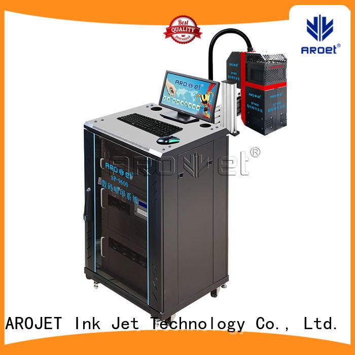 printing inkjet marking printer manufacturer for label Arojet