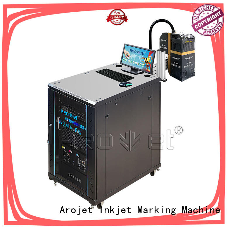 Arojet stable inkjet coding machines manufacturer for packaging