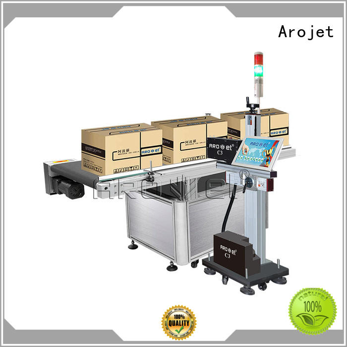 Arojet date inkjet printing machine with good price for packaging