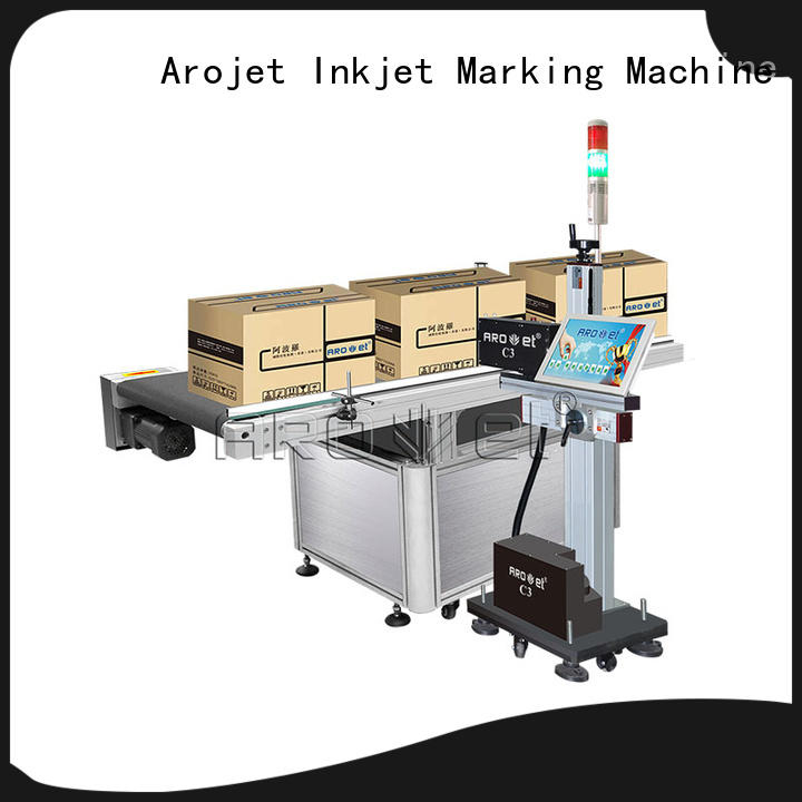 Arojet industrial inkjet barcode printers factory for label