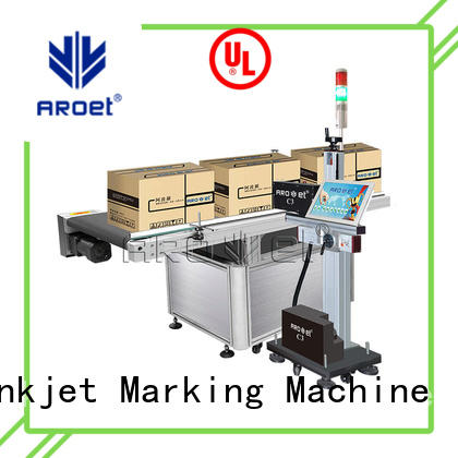 Arojet machine label inkjet printer suppliers for packaging