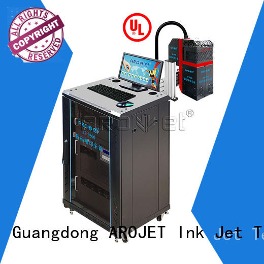 Arojet speed industrial inkjet printing from China for promotion