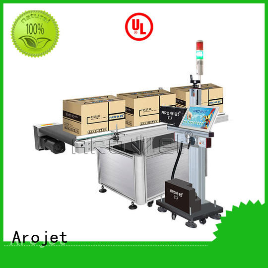 Arojet ultrahigh inkjet coding machine directly sale for paper