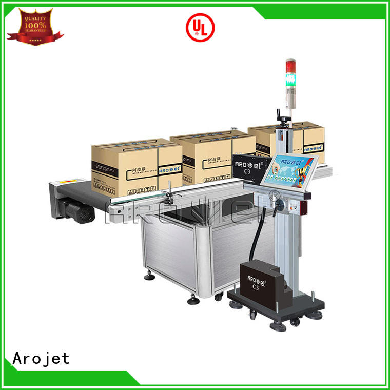 Arojet oem uv inkjet printer supplier for packaging