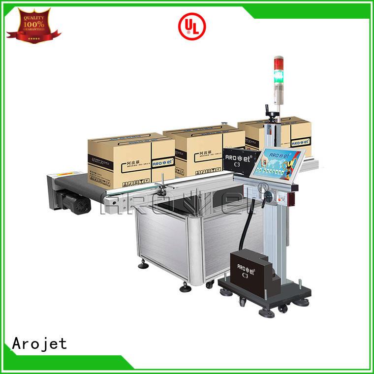 Arojet oem uv inkjet printer supplier for packaging