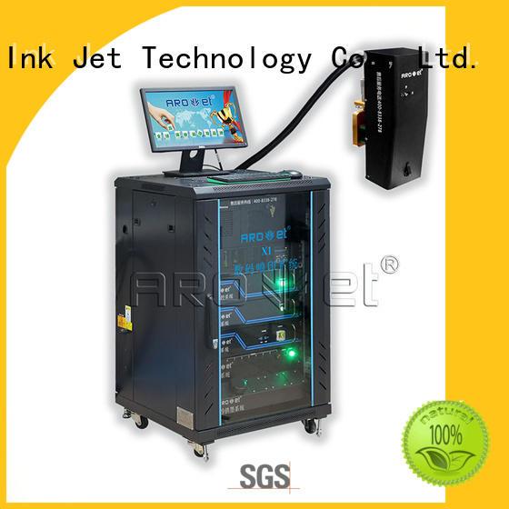 middlespeed inkjet marking equipment sidejetting for paper Arojet