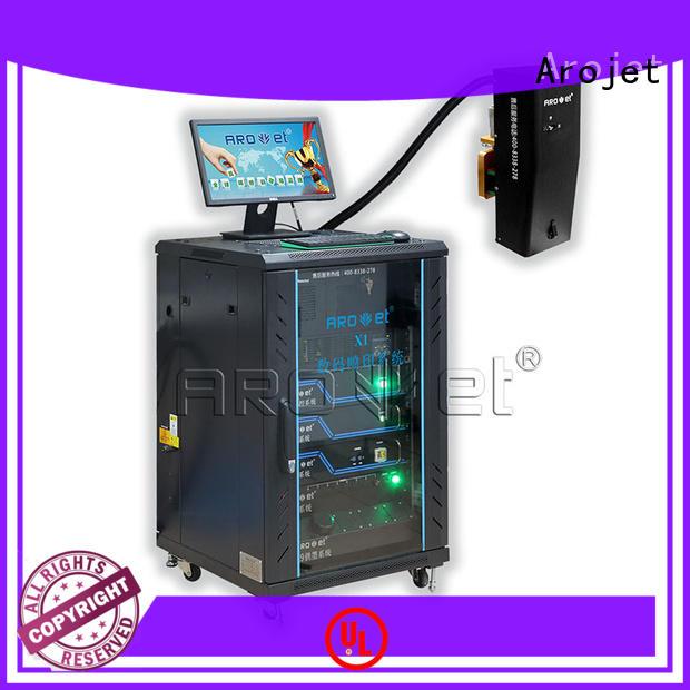 Arojet highspeed industrial inkjet manufacturer for package