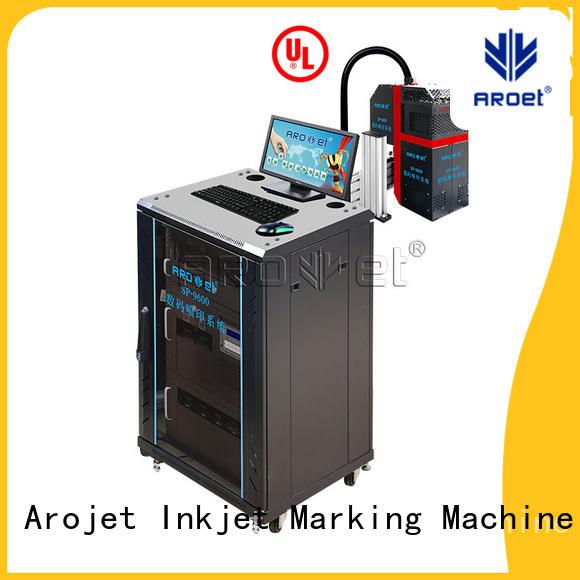 Arojet middlespeed label inkjet printer manufacturer for label