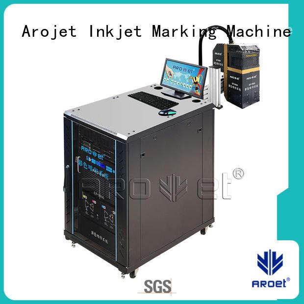 high speed industrial inkjet printer printing for paper Arojet