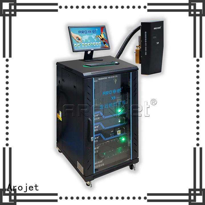 Arojet c2 inkjet variable data printing machine company for promotion