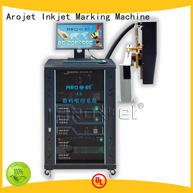 Arojet ultrahigh high speed industrial inkjet printer machine for packaging