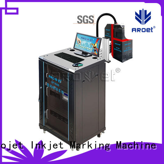 Arojet top selling inkjet printer for packaging em313w for film
