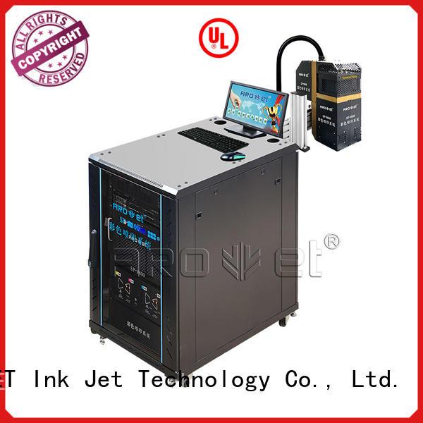 arojet high speed inkjet printer customized for package