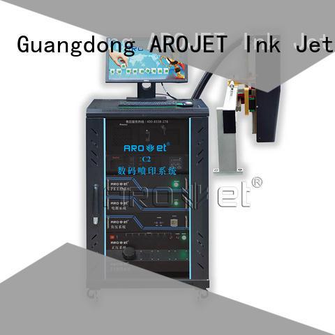 Arojet industrial uv inkjet printer suppliers for packaging