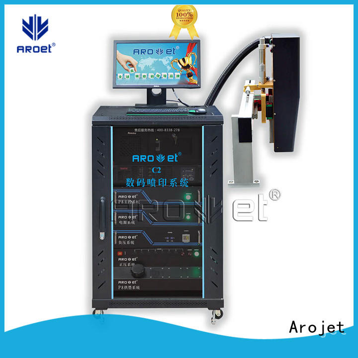 Arojet costeffective inkjet coding machine manufacturer for paper