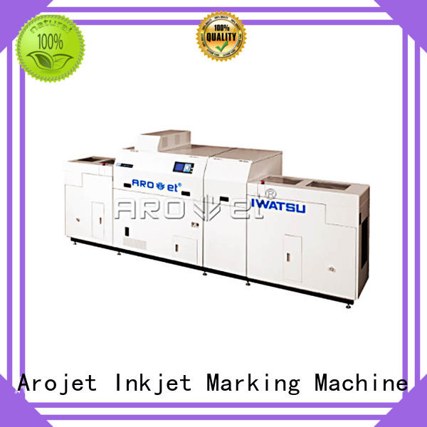 Arojet highspeed industrial inkjet printing customized for film